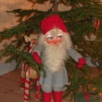 Jultomte hos Vildrosor & Höns